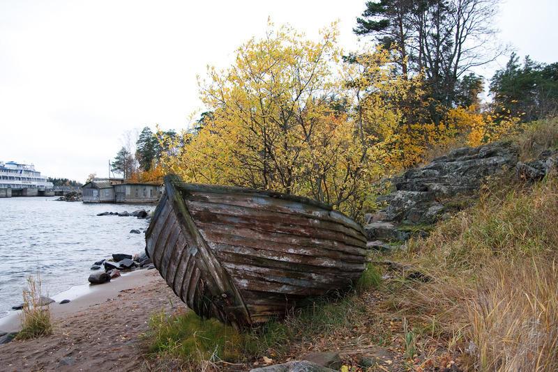 Валаам, бухта. Октябрь 2008г.